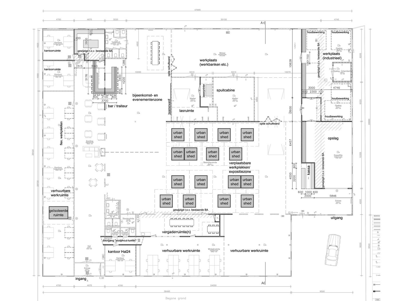 Hal24-plattegrond